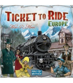 Ticket to Ride Europe Stalo...