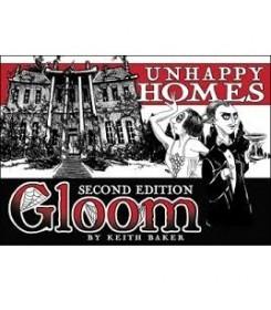Gloom: Unhappy Homes card...