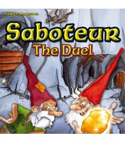 Saboteur: the Duel Kortų...